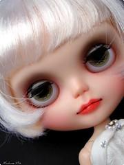 Custom Blythe Factory RBL + scalp Simply Vanilla