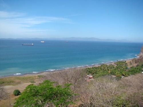 Vista al golfo de Nicoya, islas y demás