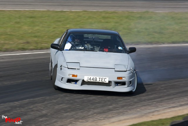 Jefferson Harper Drifting his Nissan 200sx S13