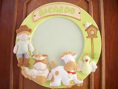 Porta de Maternidade (Cecys Baby) Tags: de porta beb nenm bolsa almofada bero segura maternidade lenol amamentao protetor lembrancinha edredom fralda fraldinha enxoval