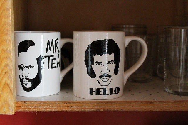 Mr. Tea and Lionel Richie