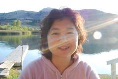 Excessive Lens Flare Chunlin (Sotosoroto) Tags: lake washington lensflare chelan wapatolake