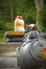 Nandi - The Guardian of Shiva!!! (Natesh Ramasamy) Tags: camera india colour slr beautiful canon temple photography photo ancient asia god bangalore guard picture culture pic celebration ancestor devotion vehicle colourful nandi shiva devotee karnataka devotional siva lingam canoneos guardian sivan linga kovil shivan natesh ramasamy canoneosslr lifeisart annamalai 550d anekal t2i koyil annamalaiyar shaivite dhyanam dyanalinga canon550d canont2i kissx4 canonkissx4 dyanalingam ramnaganat