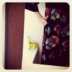 #frocktober 7th new day new frock new dino (and I haven't bought one new thing!)