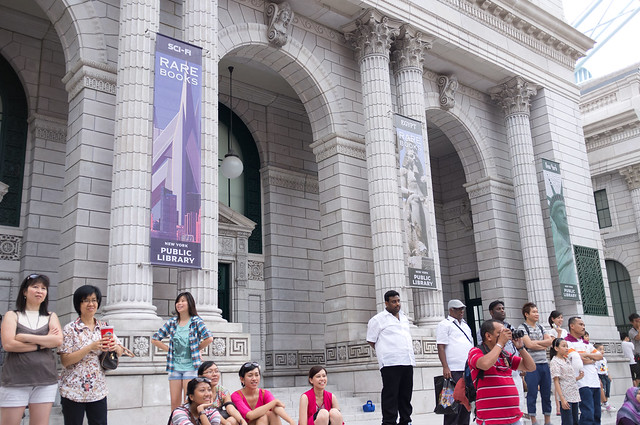 New York Library Banners