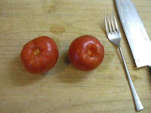 Whole tomato soup