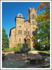 First Congregational Church of Jackson (sjb4photos) Tags: tower church michigan congregationalchurch jacksonmichigan