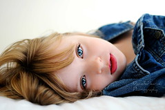 (Danielle Pearce) Tags: blue portrait girl youth eyes nikon jean young d5000