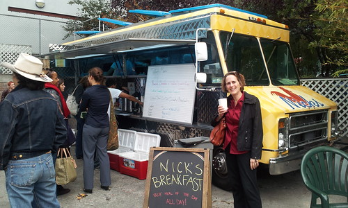 frances and food truck