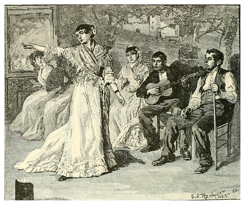 010-Danza gitana en Andalucia-Spanish vistas-1883- George Parsons Lathrop