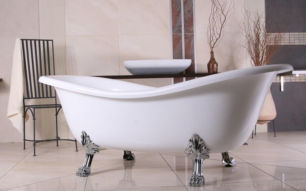 Freistehende badewanne antik gebraucht  TOP NOSTALGISCHE FREISTEHENDE BADEWANNE CLEO - super günstig, KEIN ...