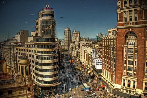 Bello Madrid....