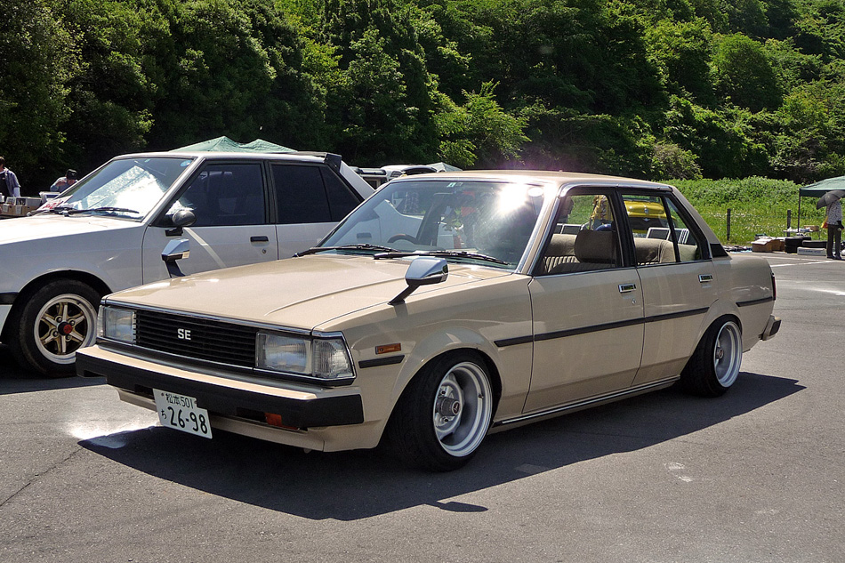 Old School Toyota Cars