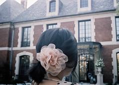 (*JLo) Tags: wedding flower film girl 35mm hair dress victorian contax polkadot redcross t2