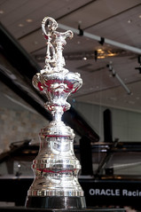 Trophy of America's Cup, Moscone West, Oracl OpenWorld 2011