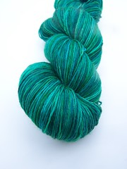 *Emerald* Perseus 4 ply Sock *BF Discount and FREE SHIPPING!