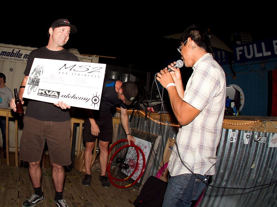 Mason O'Neal with his winner's certificate. Photo courtesy: prollyisnotprobably.com