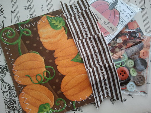 Pumpkin Paper Pocket
