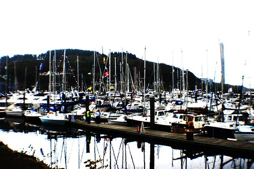 Reflections at Inverkip Marina