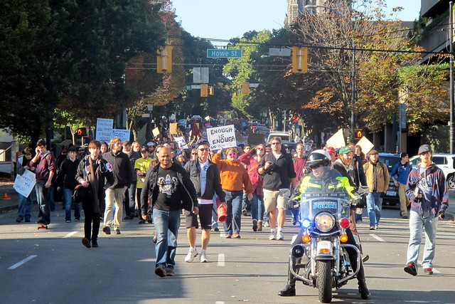 Marching Down Nelson