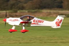 G-CDBY - 2004 build Dynaero MCR-01 ULC, displaying a smart new colour scheme