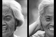 (jeridaking) Tags: old portrait people woman face look lines philippines poor cap filipino wrinkles ralph pinoy visayas leyte ormoc jeridaking matres fortheloveofphotography