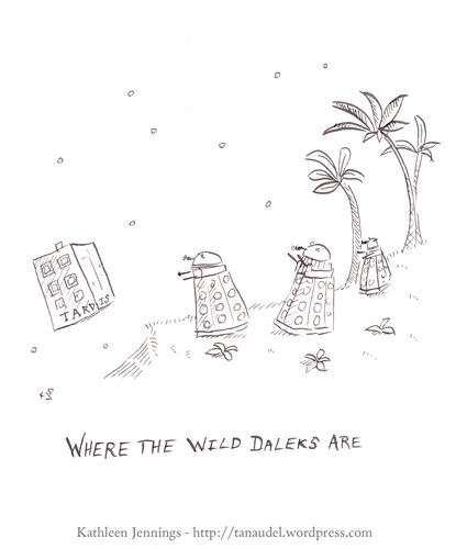 Where the Wild Daleks Are