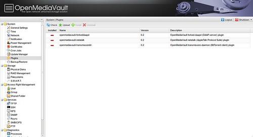 OpenMediaVault #33