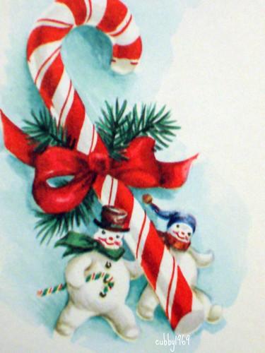 snowman candy cane 2 by inmyjammiesintx