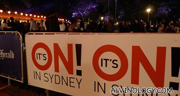 Sydney is ON