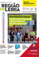Capa Regiao de Leiria edicao 3892 de 21 Outubro 2011
