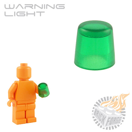 Warning Light - Trans Green