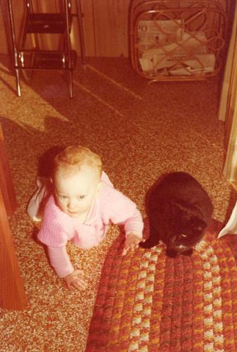 Baby Susan and Mo