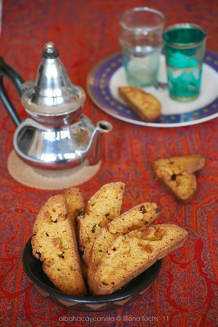 Pumpkin ginger biscotti