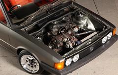 Mk1 Scirocco Turbo 03 (Winstang) Tags: low turbo split rim scirocco carburetor mk1 1272cc 8x13