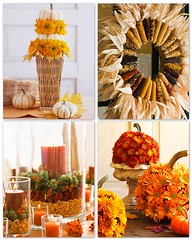 Thanksgiving Handmade Decor 2011 (Design Wotcha! http://designwotcha.com/) Tags: turkey handmade handcrafted murano holidaydecorations thanksgivingdecorations thanksgivingcrafts thanksgivingwreath wheatstems thanksgivingpillow thanksgivingcentrepieces