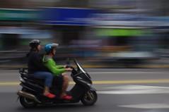 Moped in full glory, Taipei (Empress of Blandings) Tags: taiwan scooter taipei moped 臺灣 摩托車 中華民國 臺北 臺北市 輕騎
