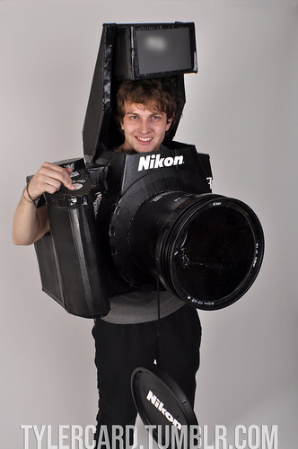 Fully Functional Nikon Camera Costume