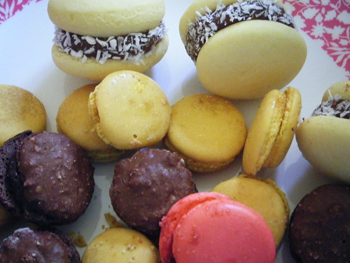 alfajores and macarons by the enchanted pumpkin
