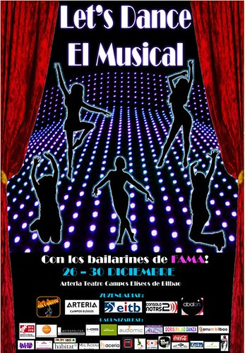 LaVisita colabora con LET´S DANCE EL MUSICAL en BILBAO by LaVisitaComunicacion