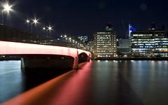 London Bridge (Aphelion3010) Tags: city bridge reflection london water thames architecture night reflections river lowlight cityscape riverthames flickraward flickraward5 flickrawardgallery ringexcellence dblringexcellence tplringexcellence eltringexcellence aphelion3010 ahmadhafeez