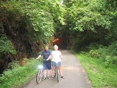 "Guest Biking Through Tunnel • <a style=""font-size:0.8em;"" href=""https://www.flickr.com/photos/69122677@N02/6285358880/"" target=""_blank"">View on Flickr</a>"