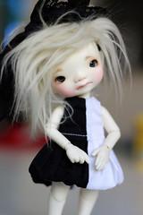 Enyo (Aya_27) Tags: cute doll tiny dollfie dollie enyo freshskin irrealdoll sadfaceup