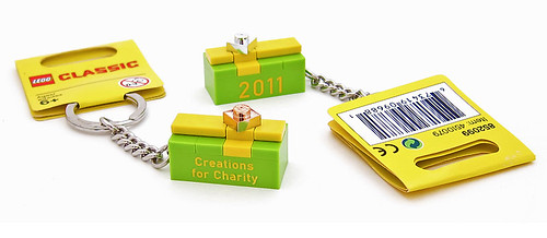Creations for Charity 2011 keychain gifts