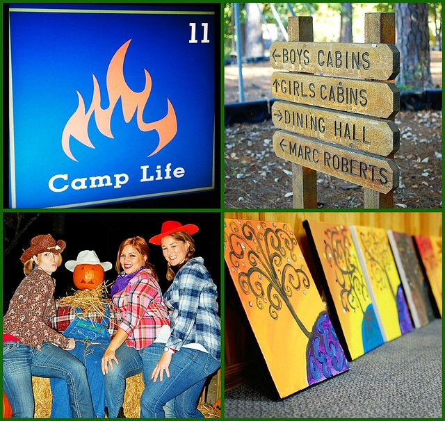 Camp Life Collage