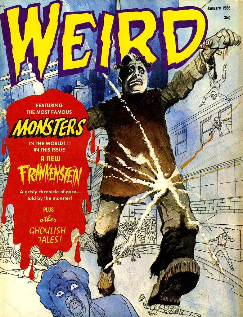 Weird Vol. 01 #10 (Eerie Publications, 1966)