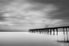 Claremont Pier (:: arshad ::) Tags: uk longexposure morning england sky bw cloud seascape water landscape photography pier norfolk claremont arshad lowestoft husain siddiqui nd110 cambournephotographygroup