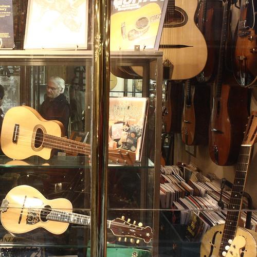 Guitar shop, galerie Vero-Dodat