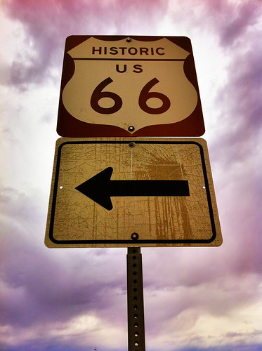 "Historic Old Route 66 Sign - New Mexico • <a style=""font-size:0.8em;"" href=""http://www.flickr.com/photos/20810644@N05/6298377795/"" target=""_blank"">View on Flickr</a>"