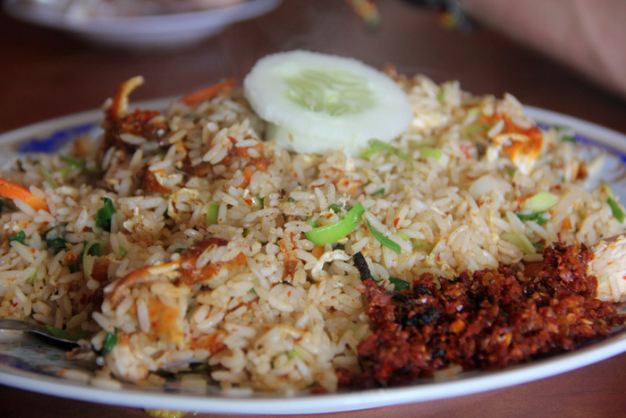 Sri Lankan Deep Fried Chicken Fried Rice